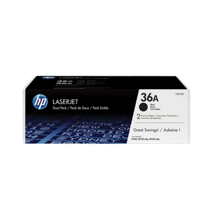 Toner HP36A Pack Duplo
