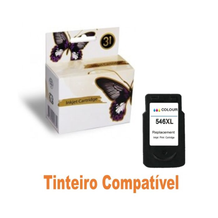 Tinteiro Canon CL546xl Tricolor Compatível