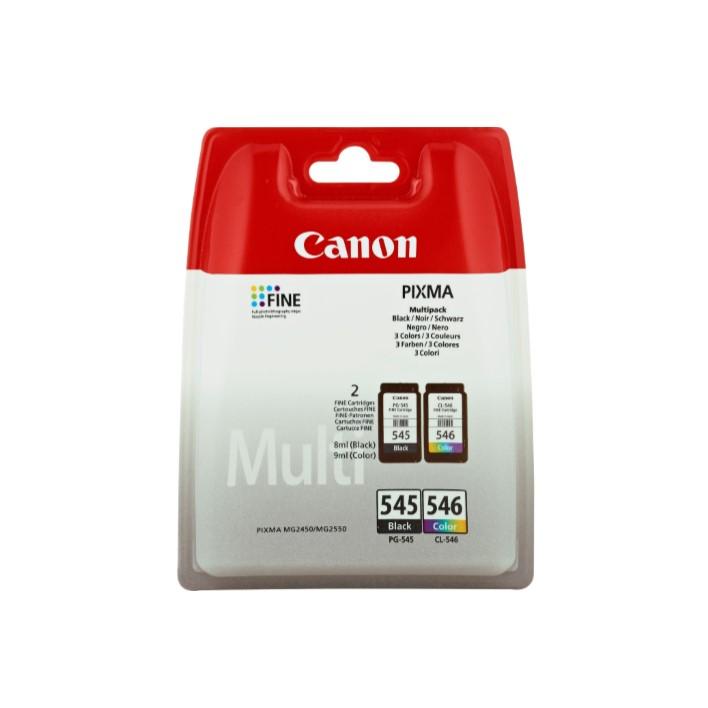 Pack Tinteiros Canon PG545 CL546