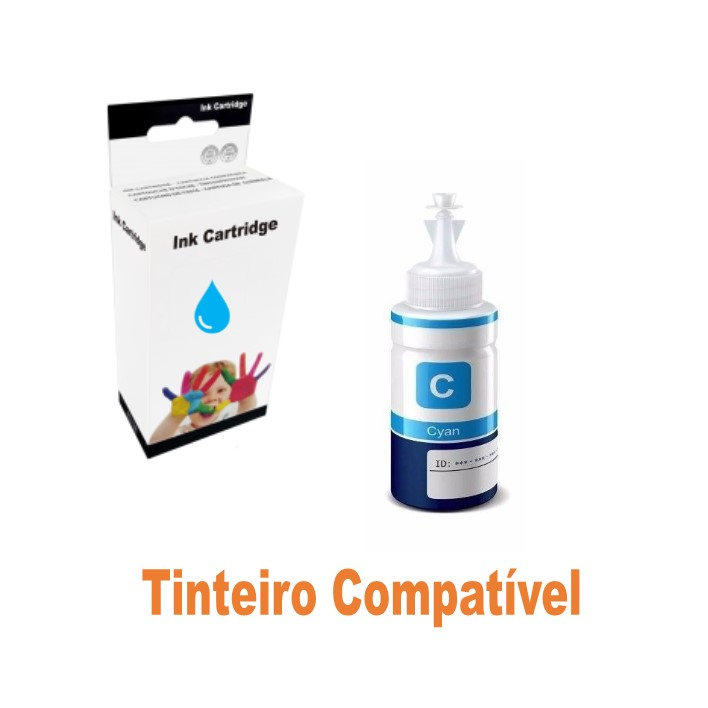 Ink 664 Epson EcoTank Cyan Compatível