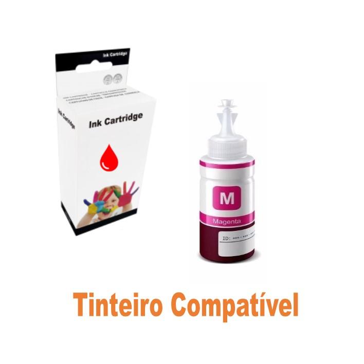 Ink 664 Epson EcoTank Magenta Compatível