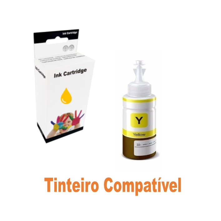 Ink 664 Epson EcoTank Yellow Compatível