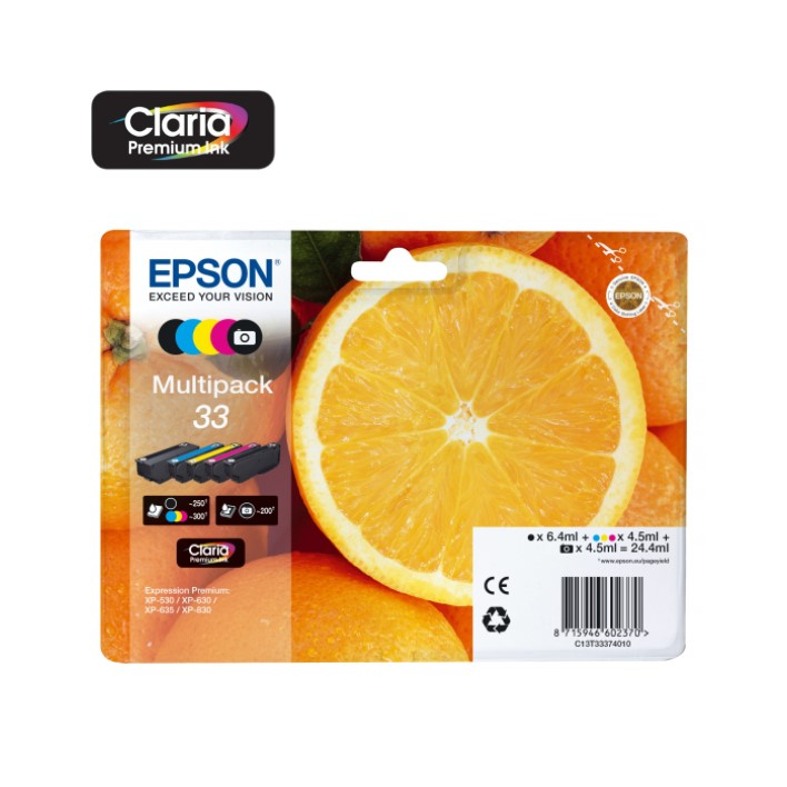 Pack 5 Colors Epson T3337