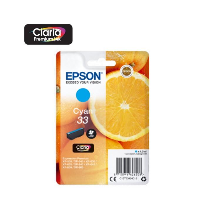 Tinteiro Epson T3342 Cyan