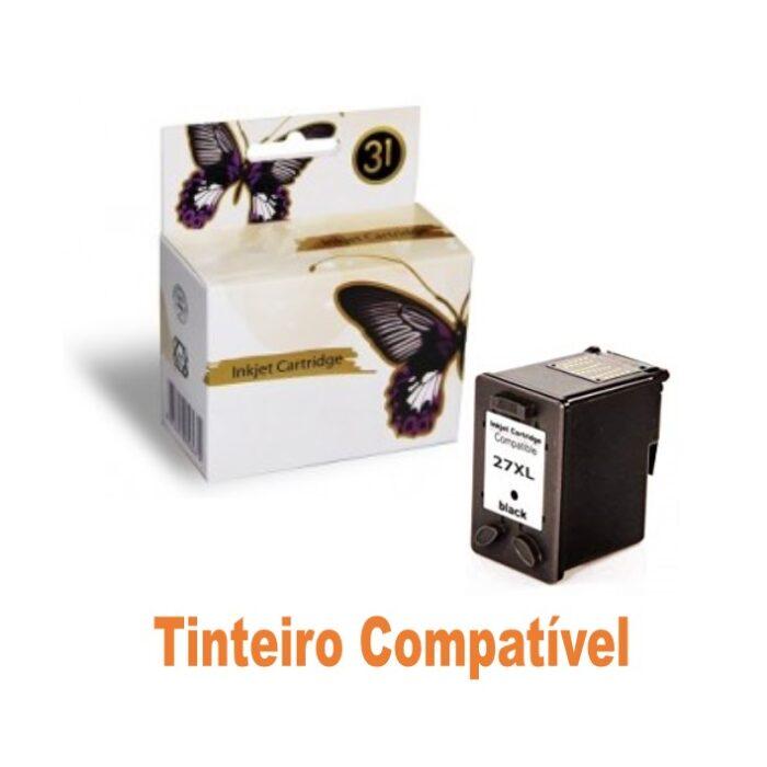 Tinteiro HP27 Black Compatível