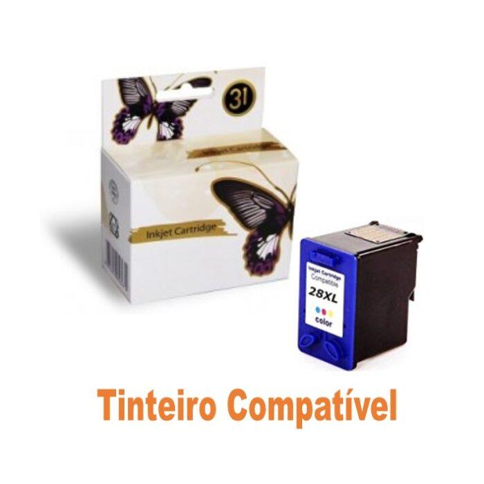 Tinteiro HP28 Tricolor Compatível