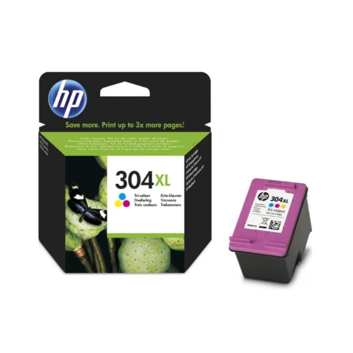 Tinteiro HP304xl Tricolor