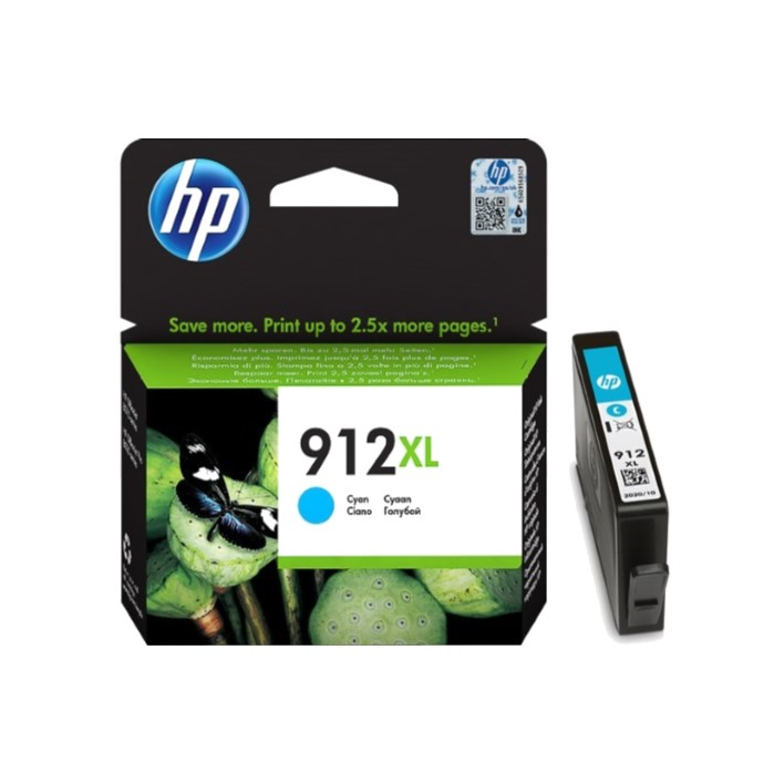 Tinteiro HP 912xl Cyan