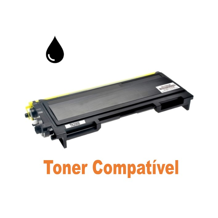 Toner Compatível Brother TN-2000