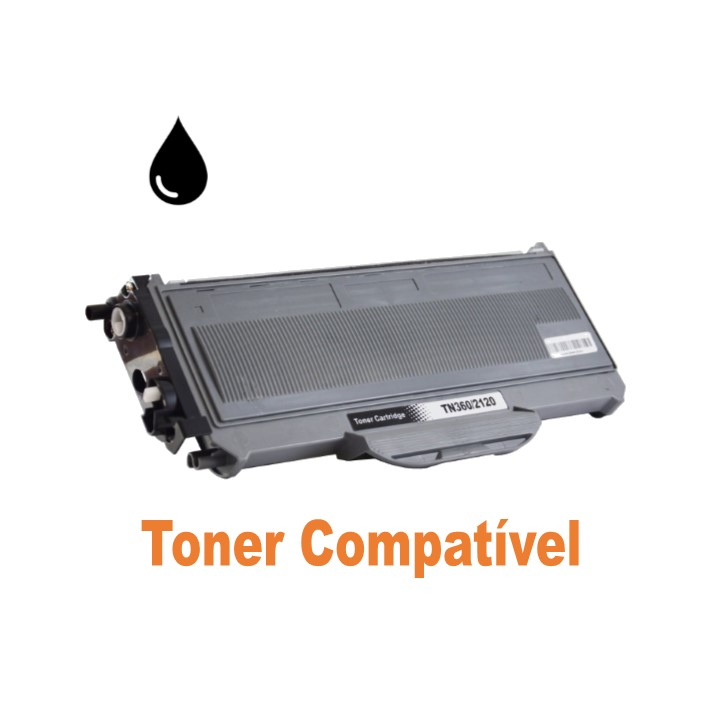 Toner Compatível Brother TN-2120