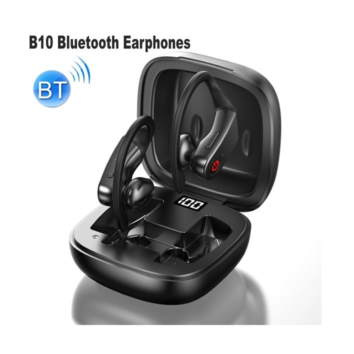 B10 Bluetooth Earphones Black