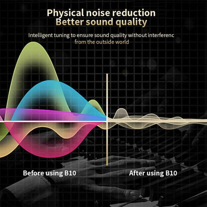 AirPods B10 – Physical noise reduction. Better sound quality