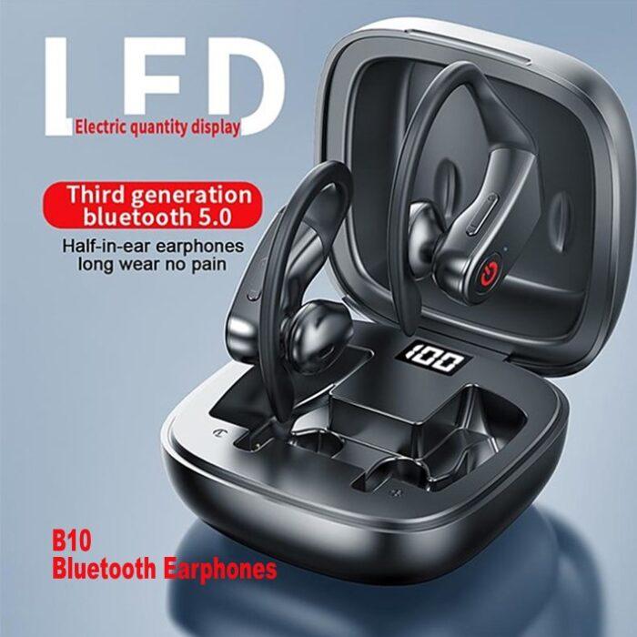 AirPods B10 Bluetooth Earphones - Intelligent LED digital display
