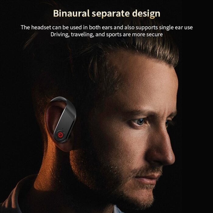 AirPods B10 Bluetooth headphones - separate binaural design