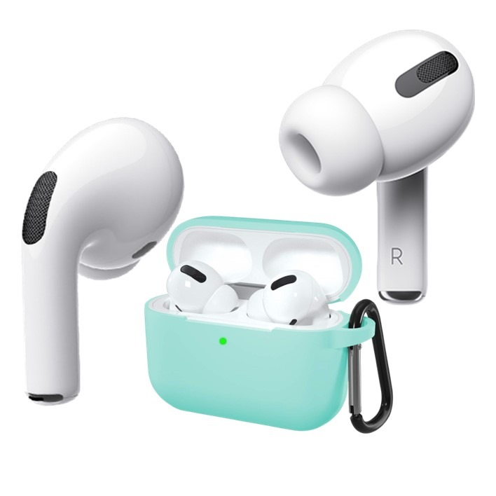 AirPods Pro Silicone Case Blue Water