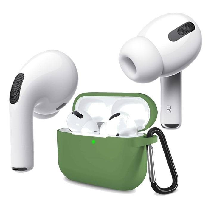 AirPods Pro Silicone Case Green