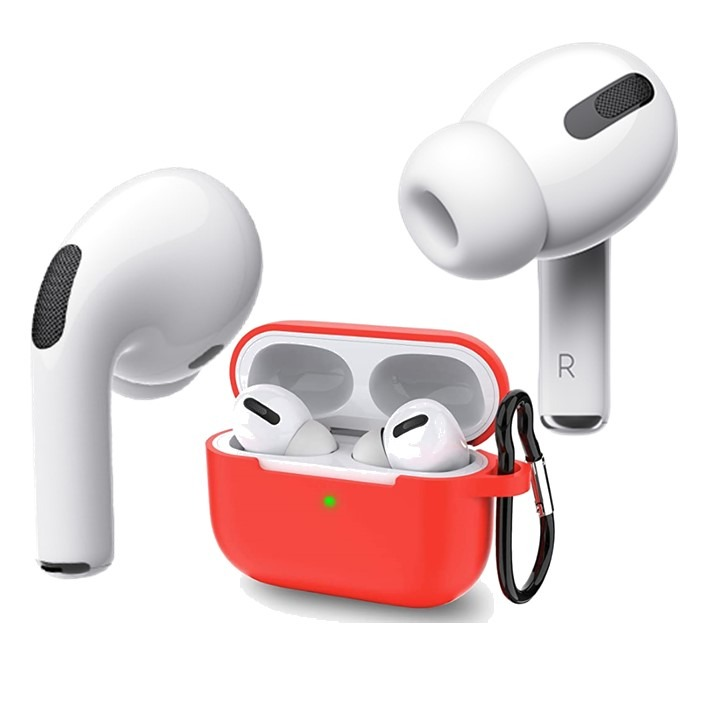 AirPods Pro Silicone Case Red