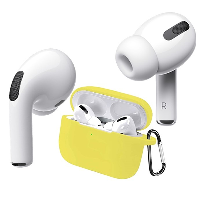 AirPods Pro Silicone Case Yellow