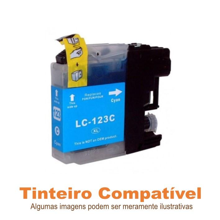 Brother LC123C Compatível