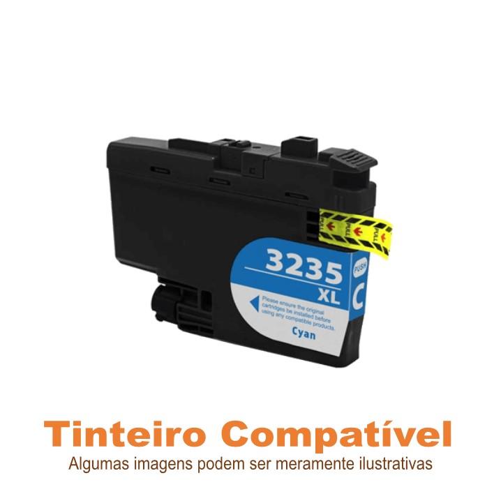 Tinteiro Brother LC3235XLC Cyan Compatível
