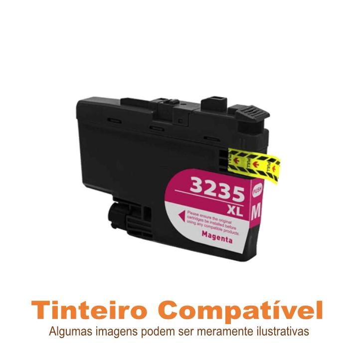 Tinteiro Brother LC3235XLM Magenta Compatível