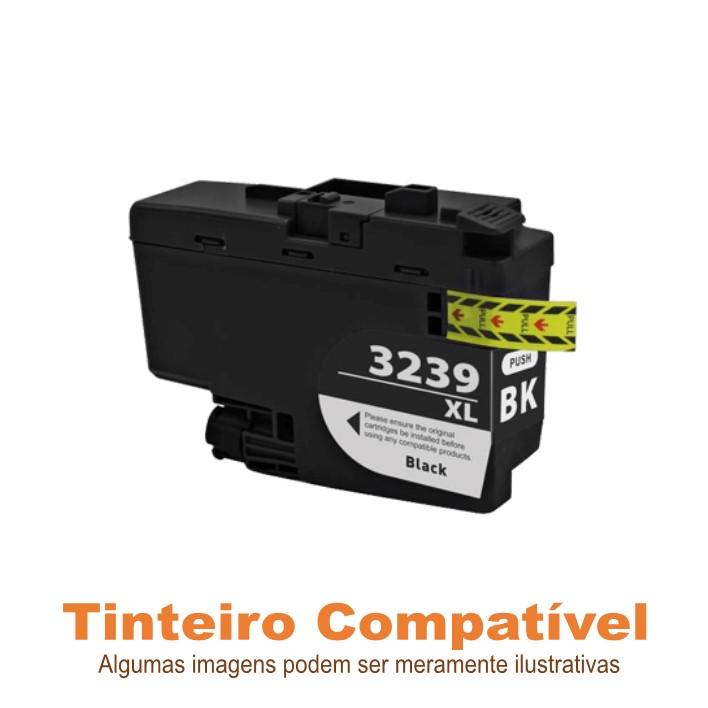 Tinteiro Brother LC3239XLBK Black Compatível