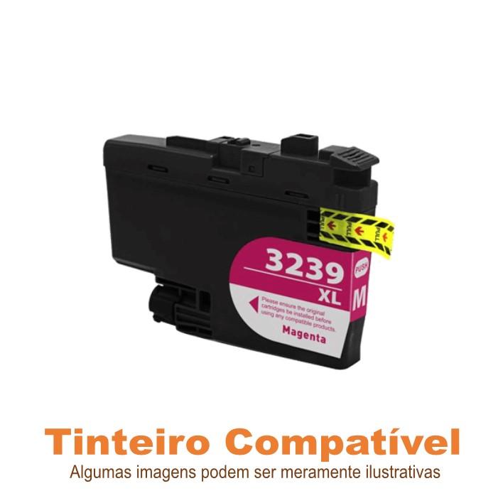 Tinteiro Brother LC3239XLM Magenta Compatível