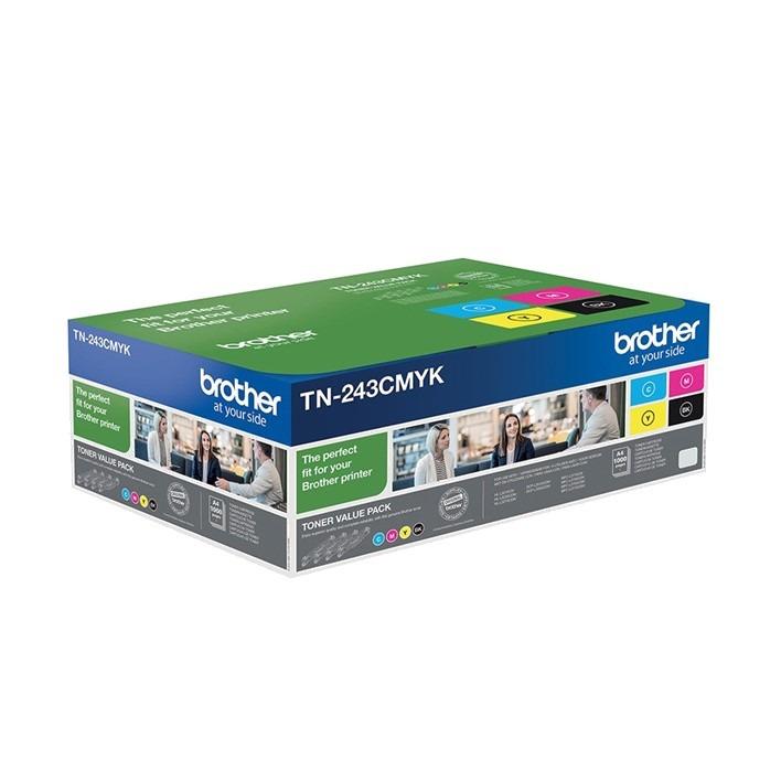 Multipack Brother TN243 CMYK original de 4 cores