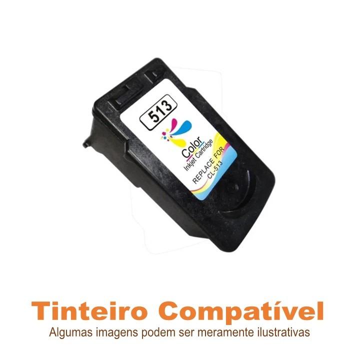 Tinteiro Canon CL513 Compatível