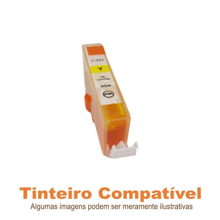 Tinteiro Canon CLI521Y Yellow Compatível