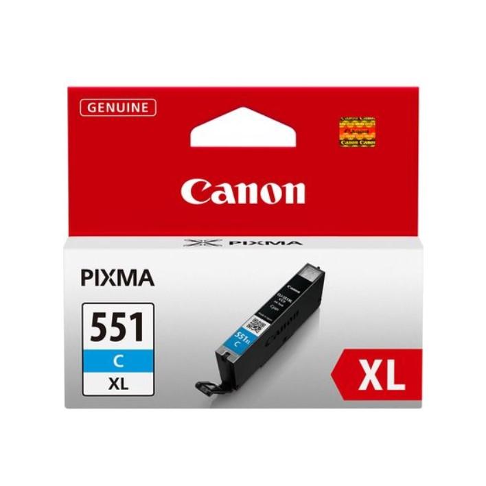 Tinteiro Canon CLI551XLC Cyan