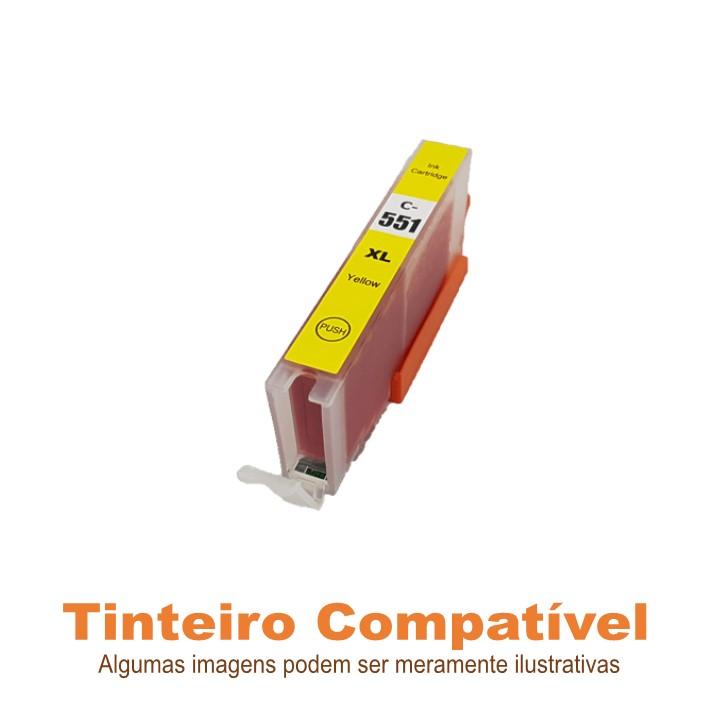 Tinteiro Canon CLI551XLY Yellow Compatível
