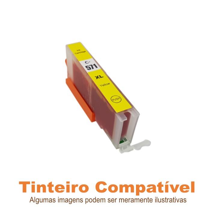 Tinteiro Canon CLI571XLY Yellow Compatível