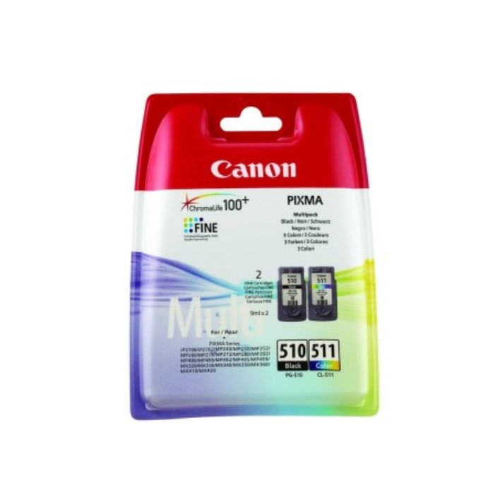 Pack Canon PG510 CL511