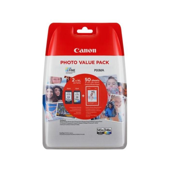 Pack Tinteiros Canon PG545XL CL546XL