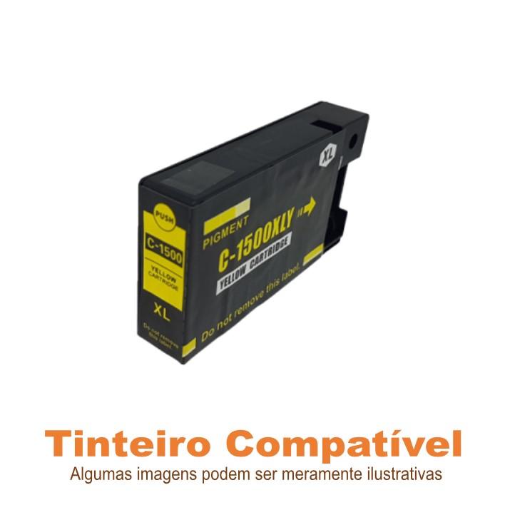 Tinteiro Canon PGI1500XLY Yellow Compatível