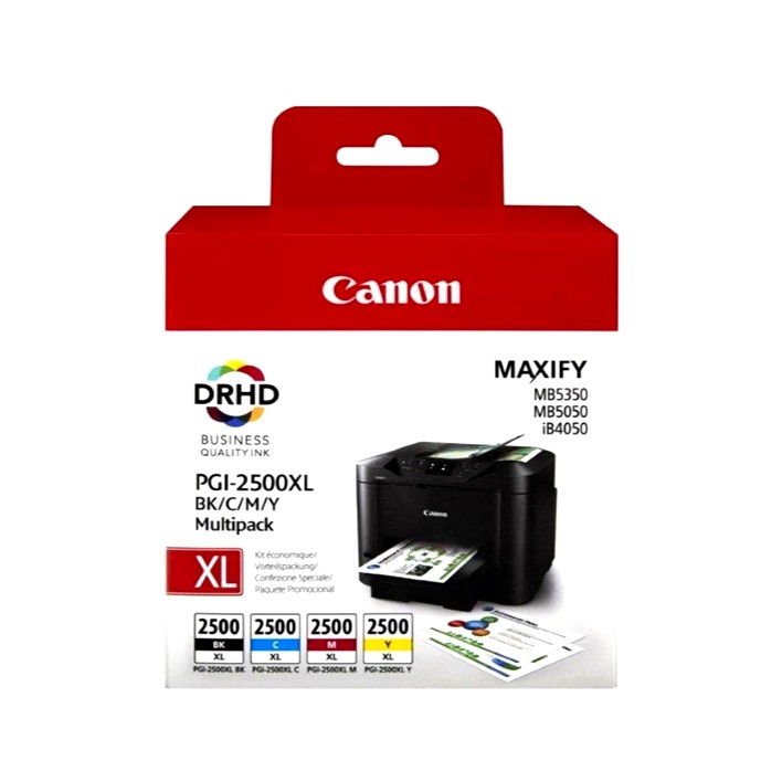 Pack Tinteiros Canon PGI2500XL Original
