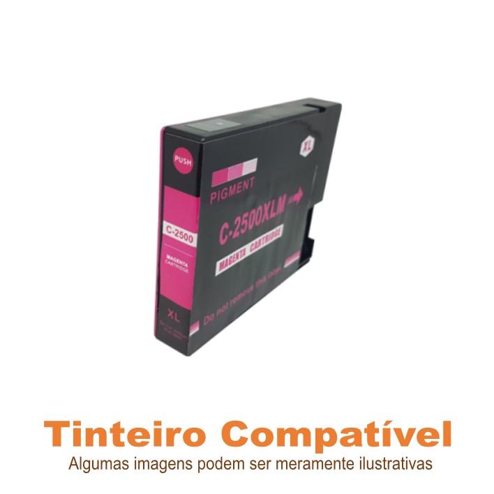 Tinteiro Canon PGI2500XLM Magenta Compatível