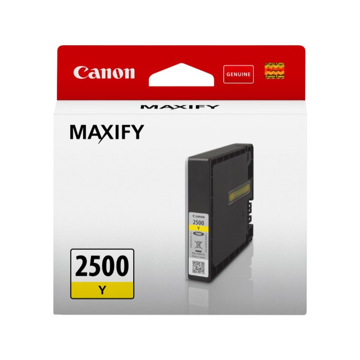 Tinteiro Canon PGI2500Y Yellow