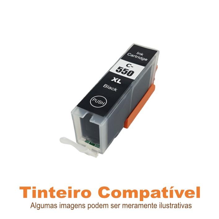 Tinteiro Canon PGI550XLBK Black Compatível