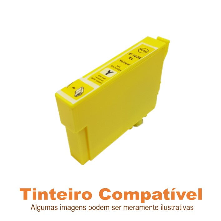 Tinteiro Epson 1634 Yellow Compatível