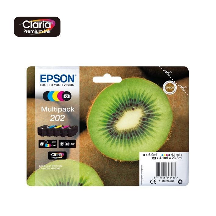 Pack Epson 202 C13T02E74010