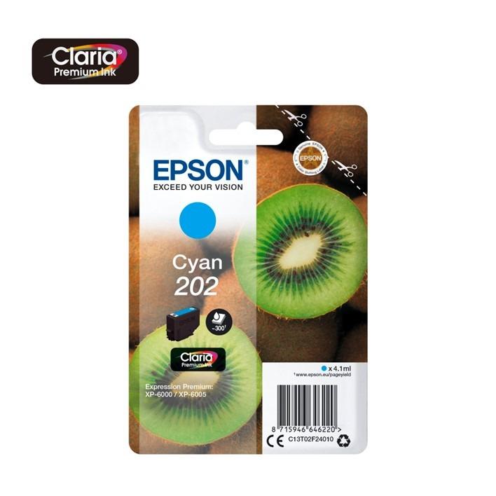 Epson 202 Cyan C13T02F24010