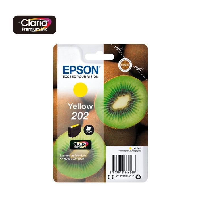 Epson 202 Yellow C13T02F44010