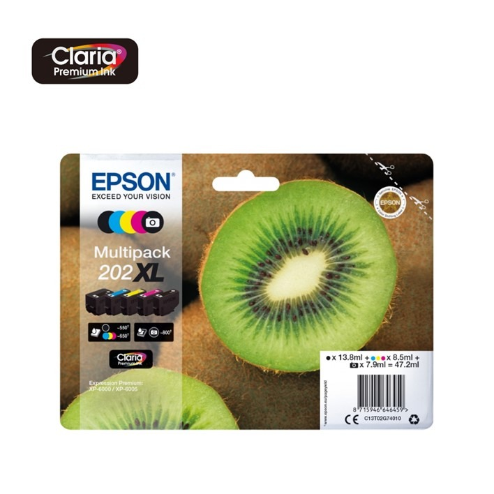 Pack Epson 202XL C13T02G74010