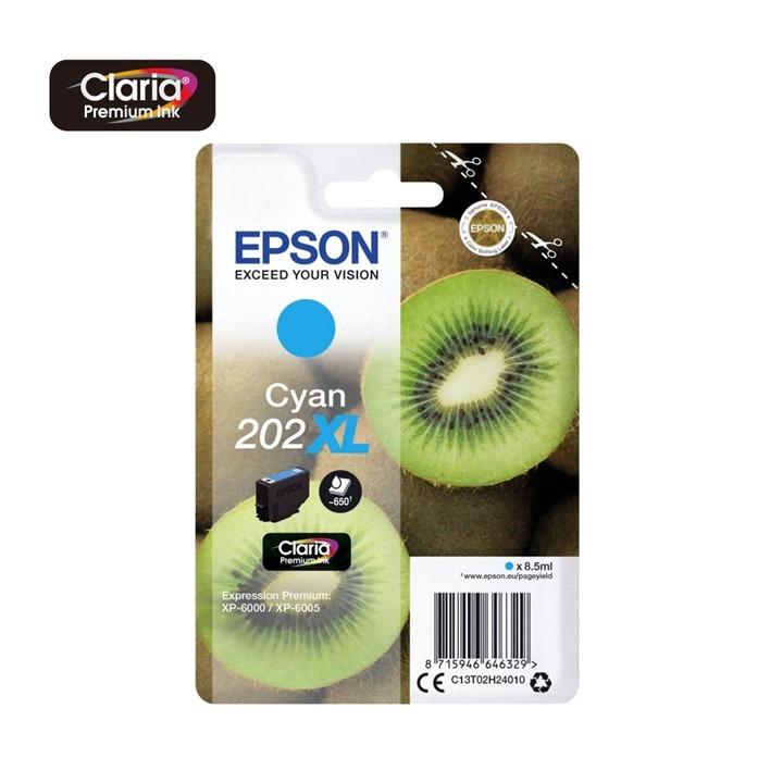 Epson 202XL Cyan C13T02H24010