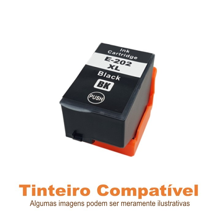 Epson 202XL Black T02G1 compatível