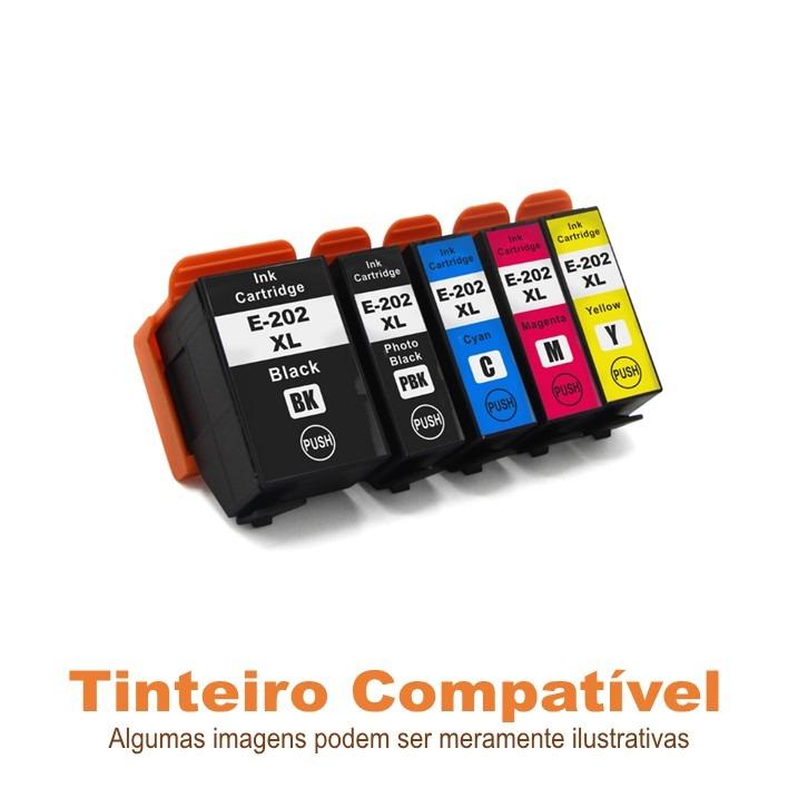 Pack Epson 202XL T02G7 compatíveis
