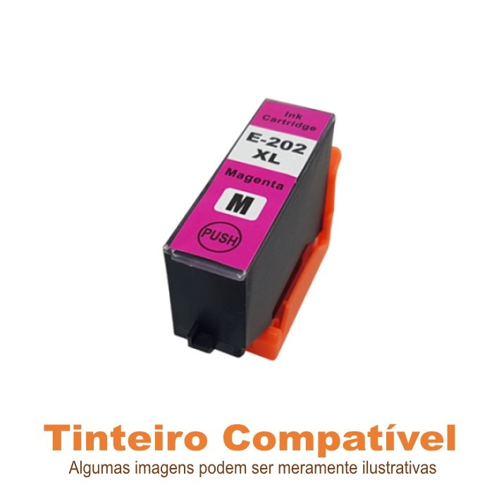 Epson 202XL Magenta T02H3 compatível