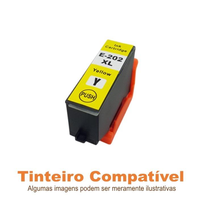 Epson 202XL Yellow T02H4 compatível